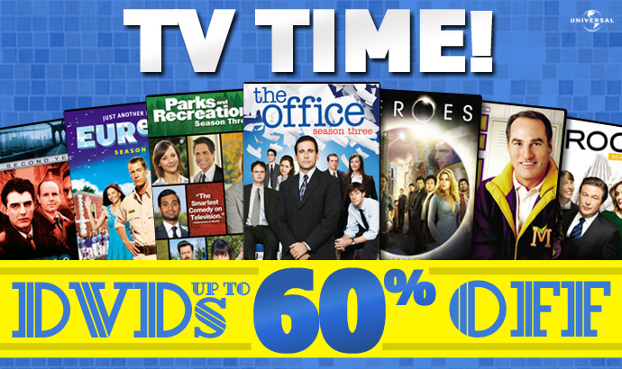 Universal TV Time Sale Image