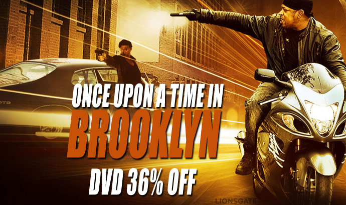 Once Upon A Time In Brooklyn DVD Sale Image