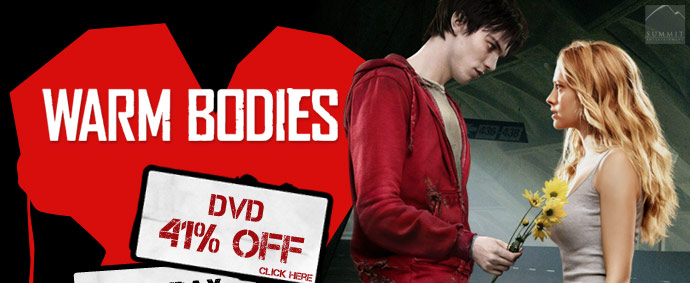 Warm Bodies DVD On Sale!