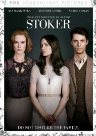 Stoker DVD Box Cover Image