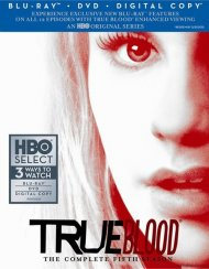 True Blood: The Complete Fifth Season Blu-ray Box Cover Image