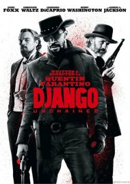 Django Unchained DVD Box Cover Image