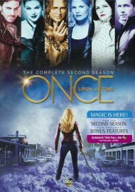 Once Upon A Time: The Complete Second Season DVD Box Cover Image