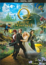 Oz The Great And Powerful DVD Box Cover Image