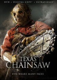 Texas Chainsaw DVD Box Cover Image