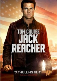 Jack Reacher DVD Box Cover Image