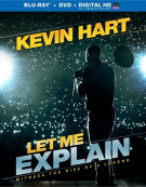Kevin Hart: Let Me Explain Blu-ray Box Cover Image